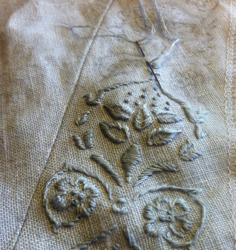 embroideryinprogress