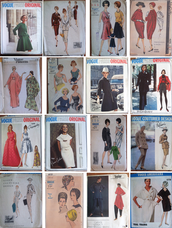 a sampling from grandmas pattern collection